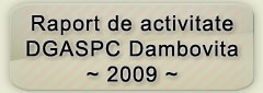 Raport activitate DGASPC 2009